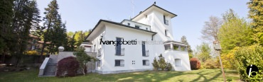 Prestigious villa on Lake Maggiore with park and panoramic view