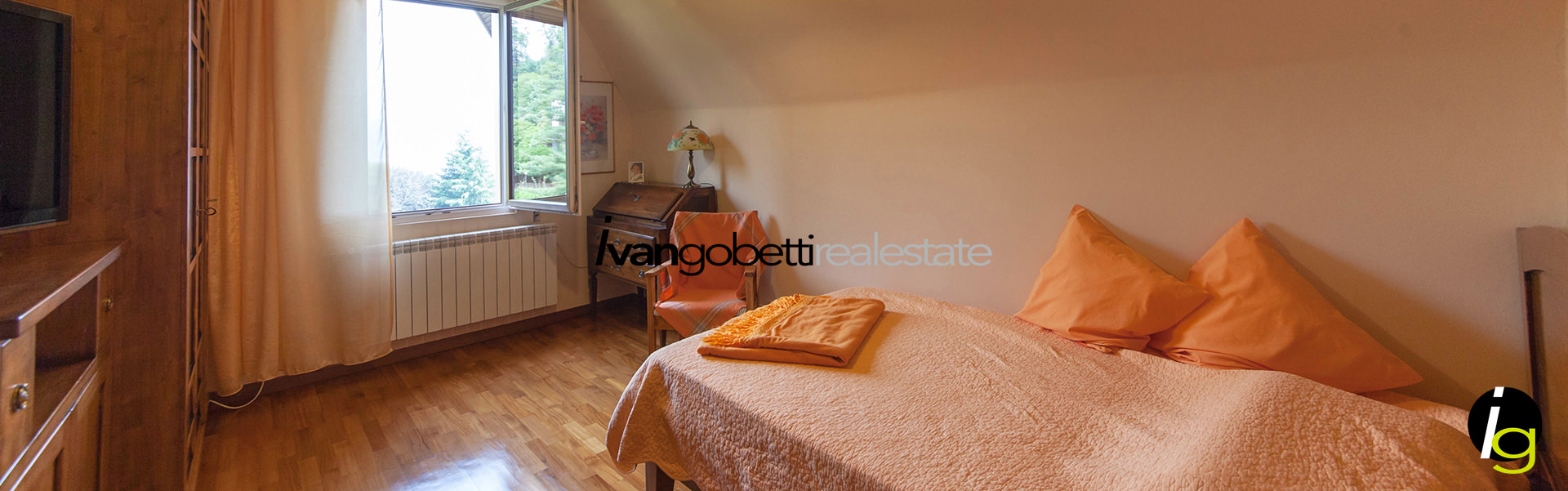 Villa for sale overlooking Lake Maggiore, Stresa