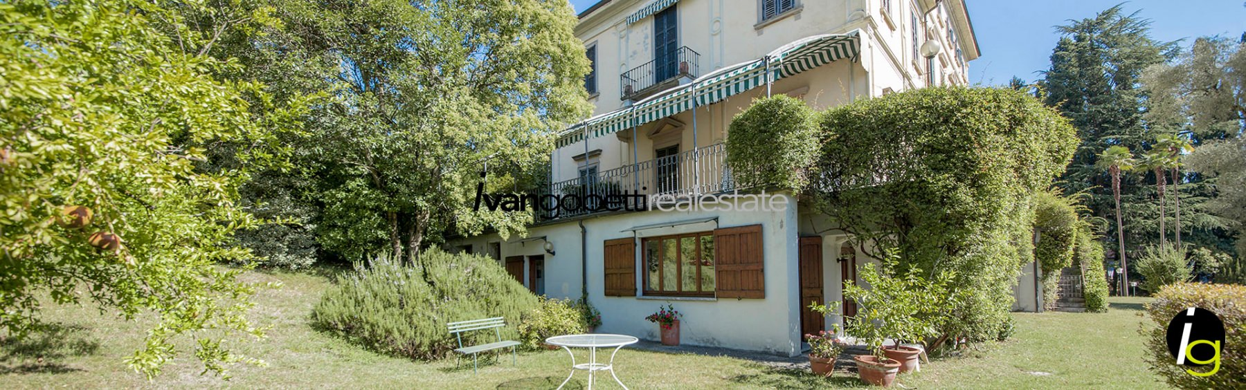 Tremezzo, on Lake Como wonderful apartment in a historic villa for sale
