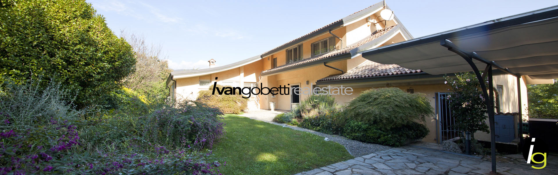 Important and exclusive modern villa for sale in Italy