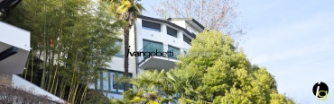 Modern villa with amazing Lake Maggiore view
