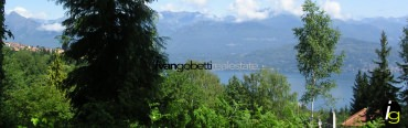 Building area on Lake Maggiore for sale