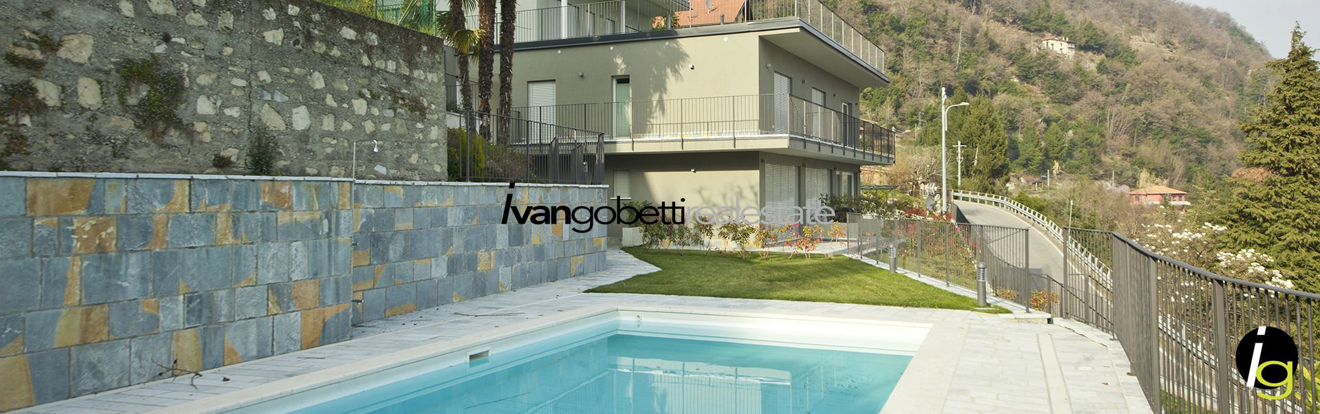 In vendita penthouse in residence con piscina e rooftop garden privato vista lago di Como