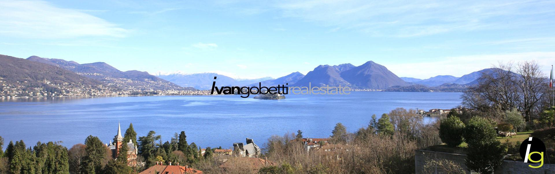 Lago Maggiore Baveno appartamento in residence con piscina