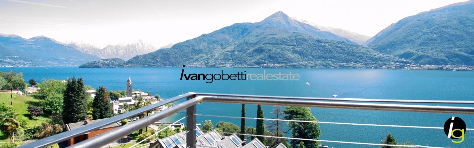 Lago di Como, Cremia appartamento con piscina in vendita