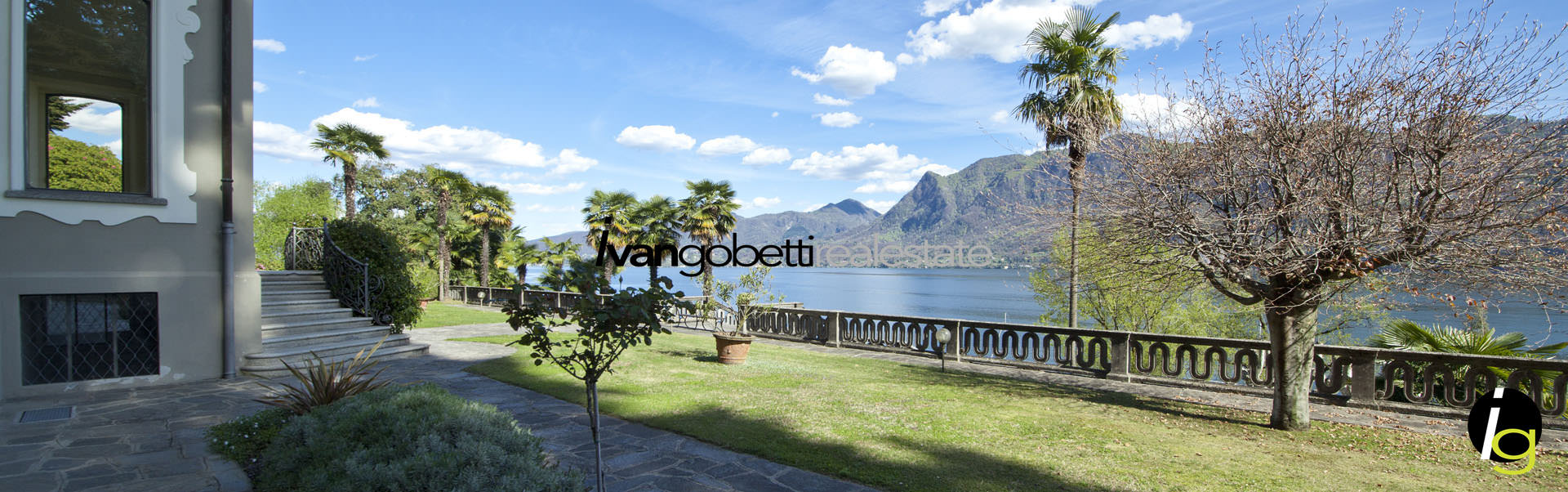 Апартаменты на продажу в исторической вилле на Озере Маджоре, Гиффа