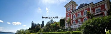 Lake Maggiore, Stresa apartment for sale in historic Villa.