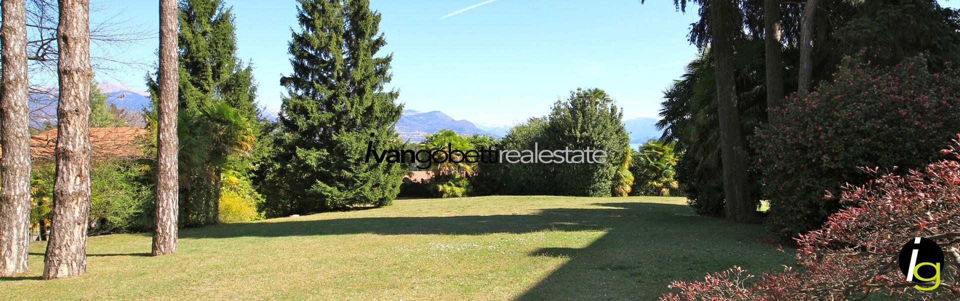 Appartamento in villa d'epoca con piscina sul Lago Maggiore