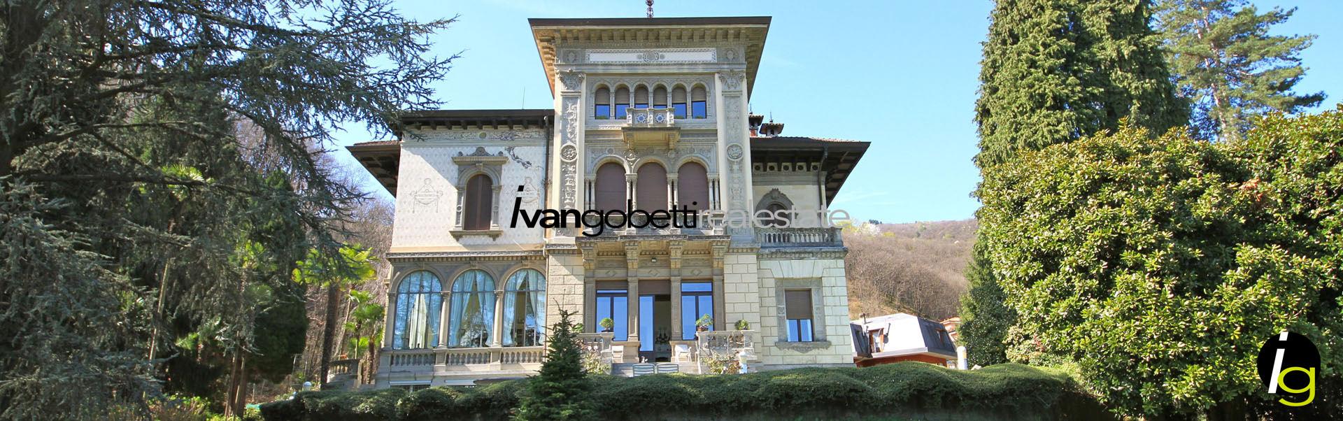 Maggiore See, Wohnung in Historische Villa zu verkaufen