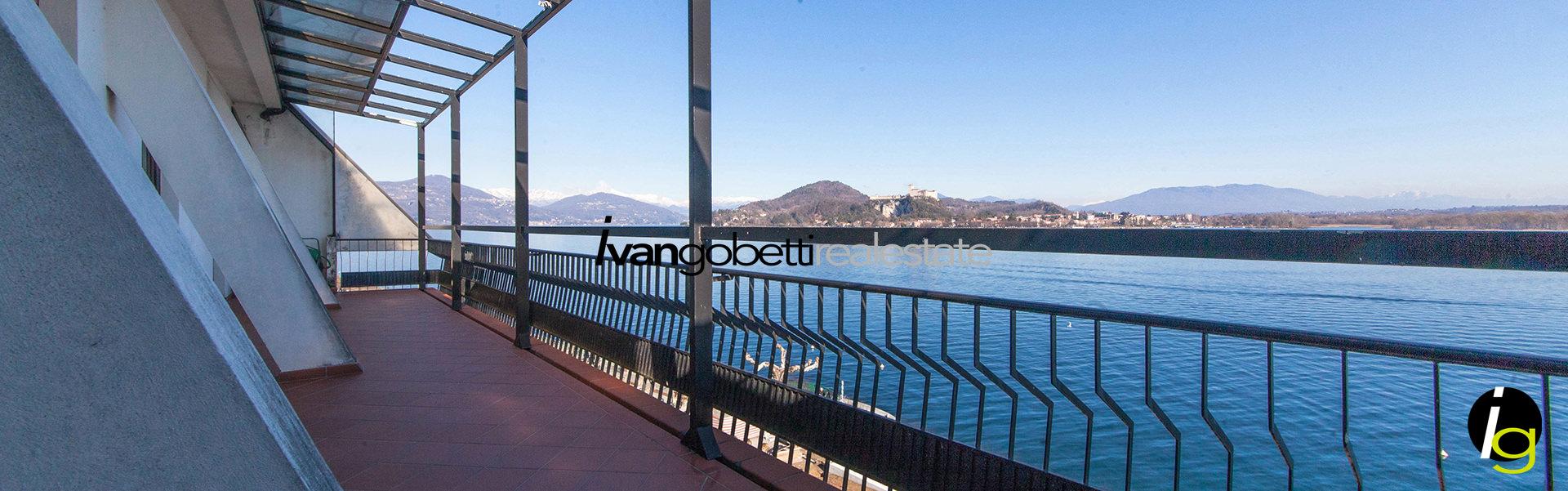Пентхаус с видом на Озеро Маджоре, Арона
