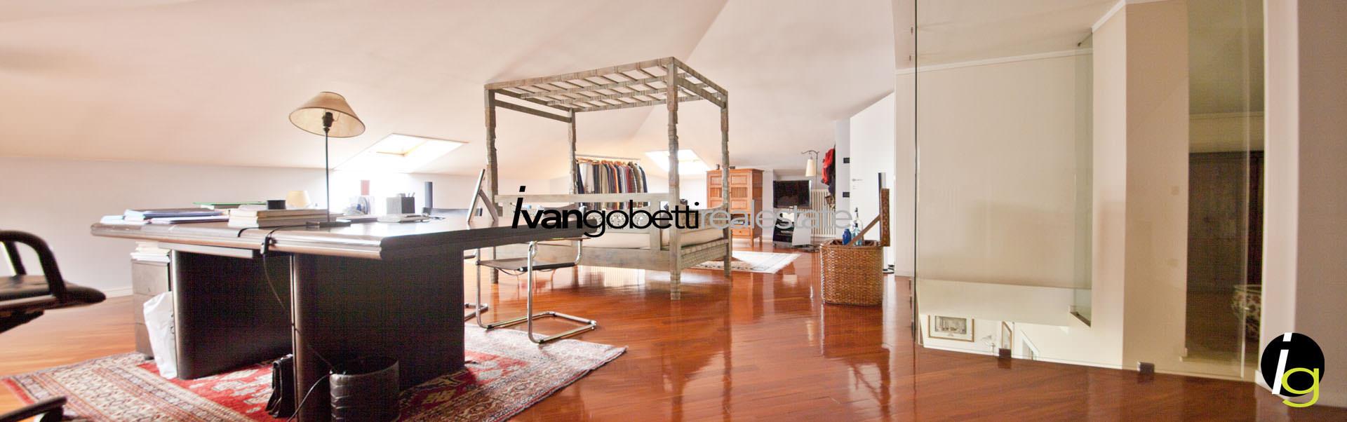 Modern villa with garden and Lake Maggiore view