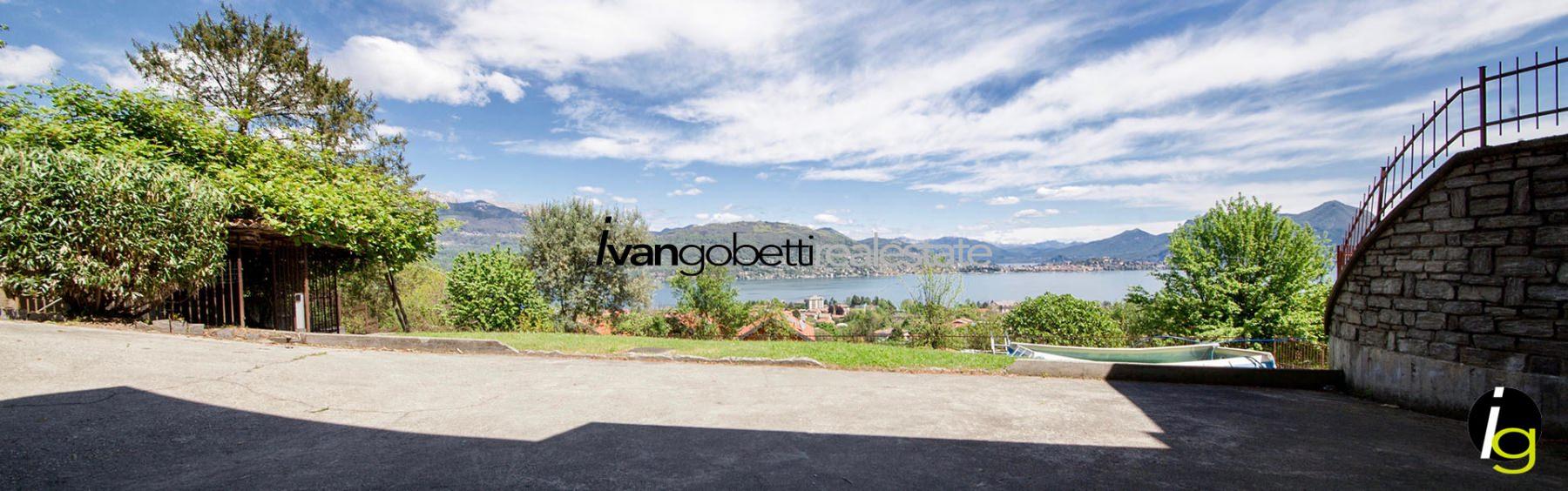 Villa for sale in Baveno Lake Maggiore with views of the Borromean Islands