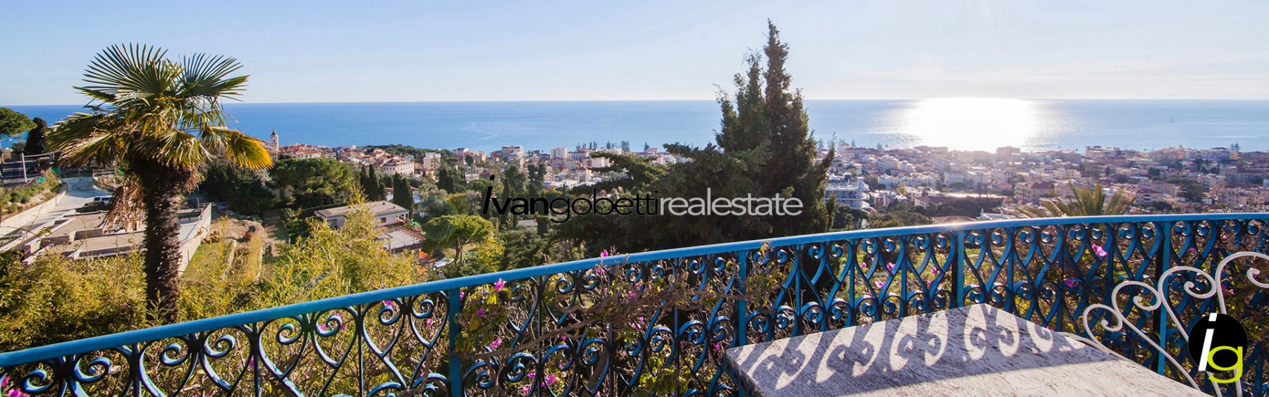 Liguria, Bordighera splendid luxury villa for sale