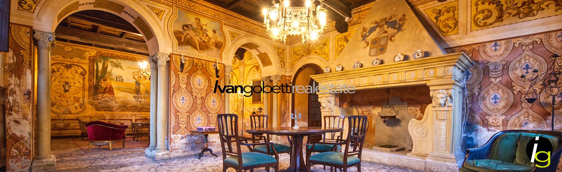 Borgomanero, zu verkaufen Schloss von des 1700 mit Garten