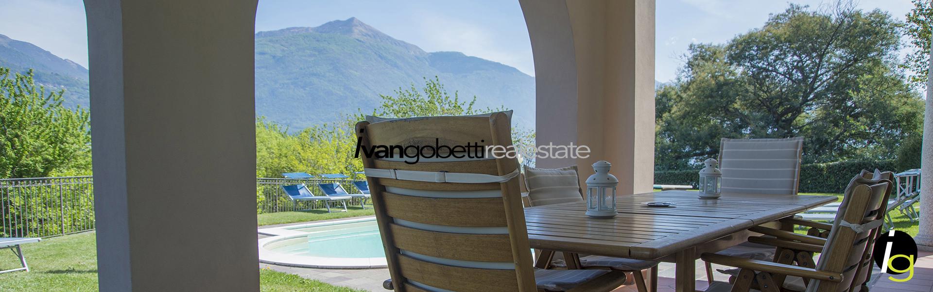 Продаётся вилла с бассейном на Озере Комо Менаджо