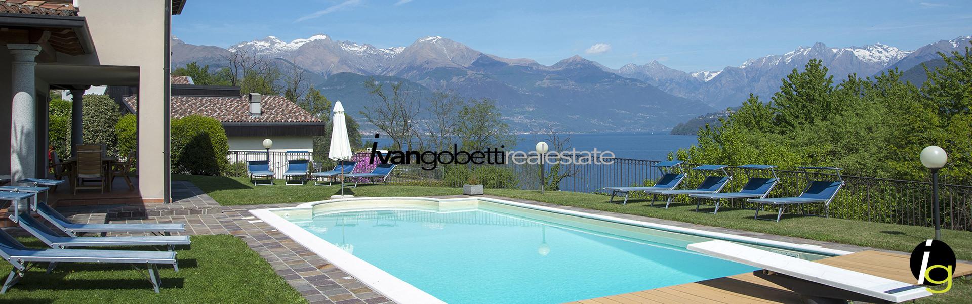 Vendesi villa con piscina Lago di Como Menaggio
