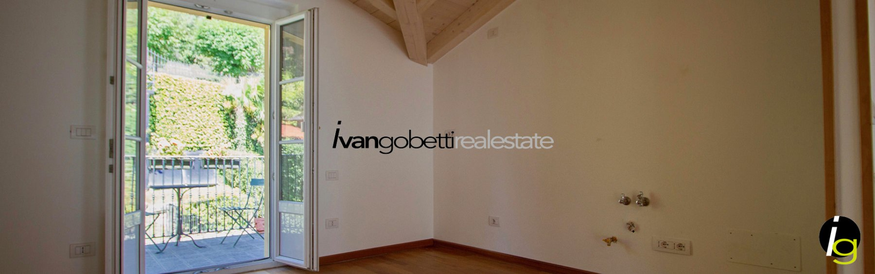 Lake Como Griante, beautiful apartment for sale