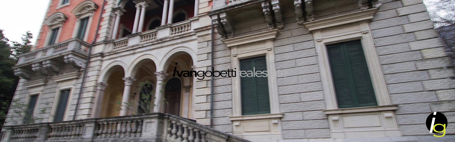 Lago di Como, Griante in vendita appartamento in Villa d'epoca.