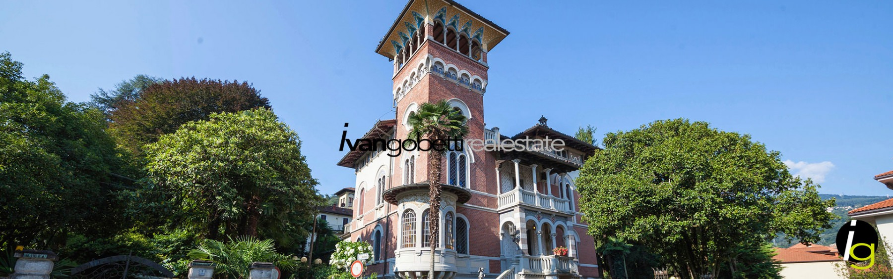 Vintage villa in the late medieval style for sale in Stresa on Lake Maggiore &nbsp; &nbsp; &nbsp; &nbsp;<span>Product code : 462<br/>This marvellous vintage villa was built at the end of the 19th century in a late Medieval style. The villa is situated in the city &nbsp;[...]