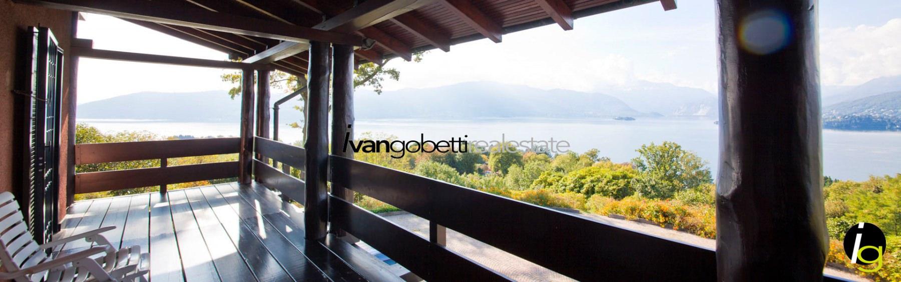 Озеро Маджоре Лавено Момбелло вилла на продажу с видом на озеро