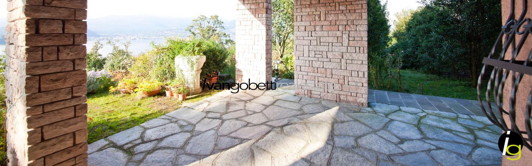 Lake Maggiore – Laveno Mombello Villa for sale with view