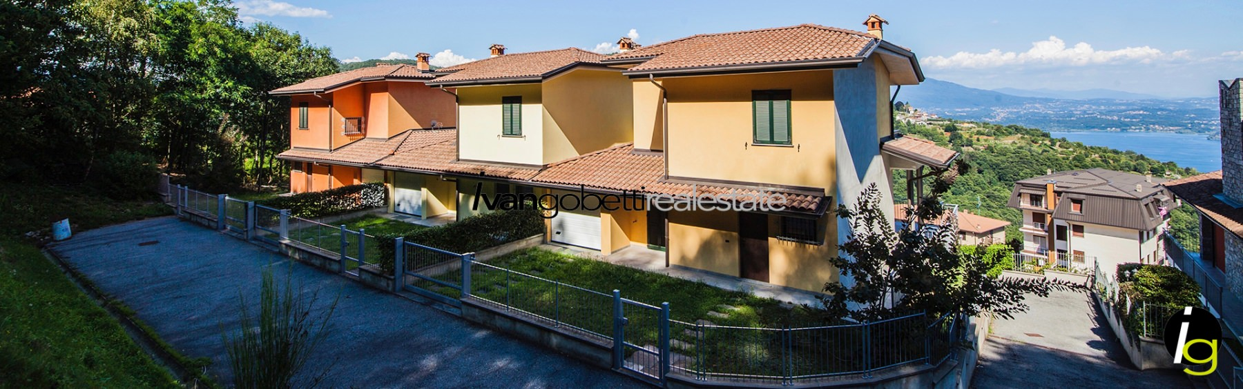 Lake Maggiore, Villa with view and garden for sale