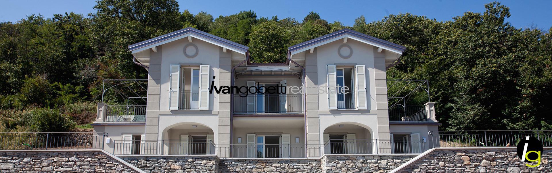 Italia, Lago Maggiore, Verbania, vendesi lussuose ville di nuova costruzione