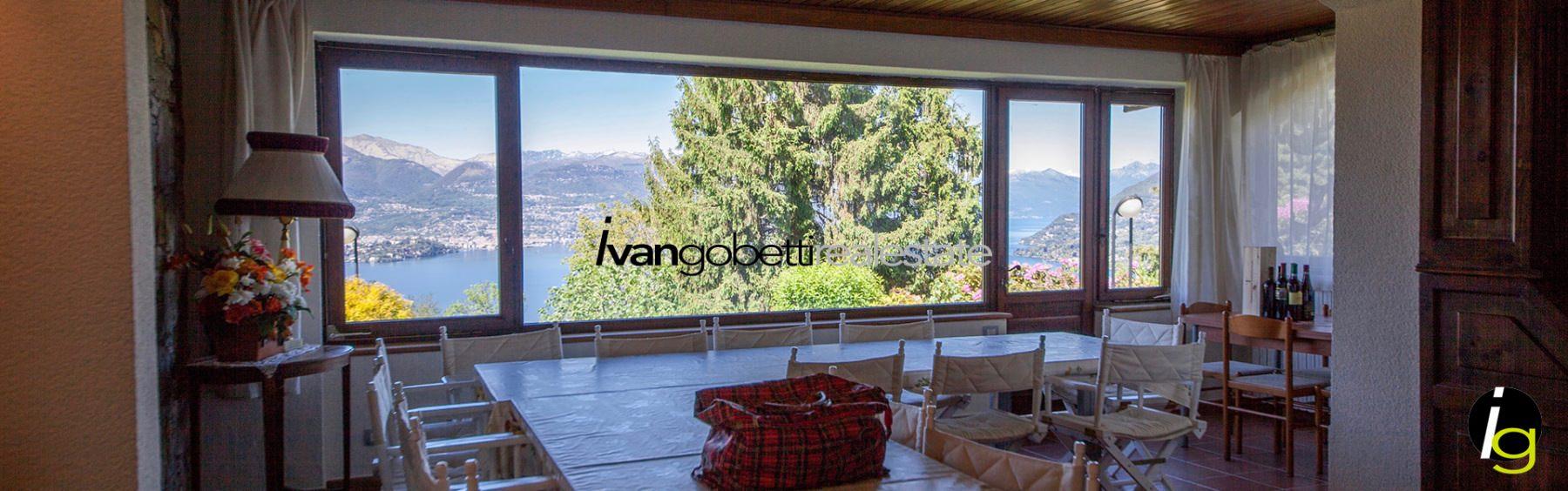 Lake Maggiore Stresa villa for sale