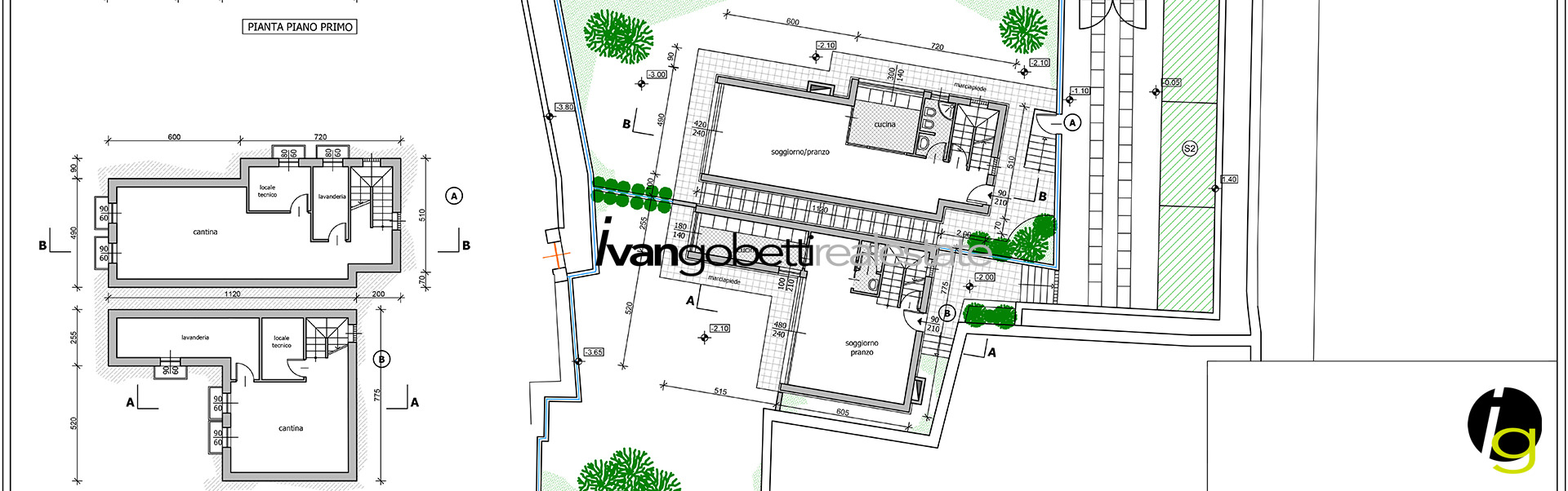 Building area for sale in Stresa, Lake Maggiore