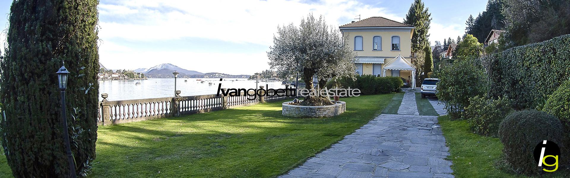Historicvilladirectlyonthewater, Lake Maggiore, Stresa