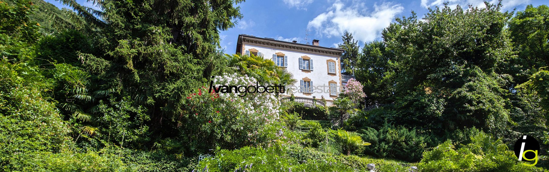 Come Lake Blevio Beautiful historic villa for sale