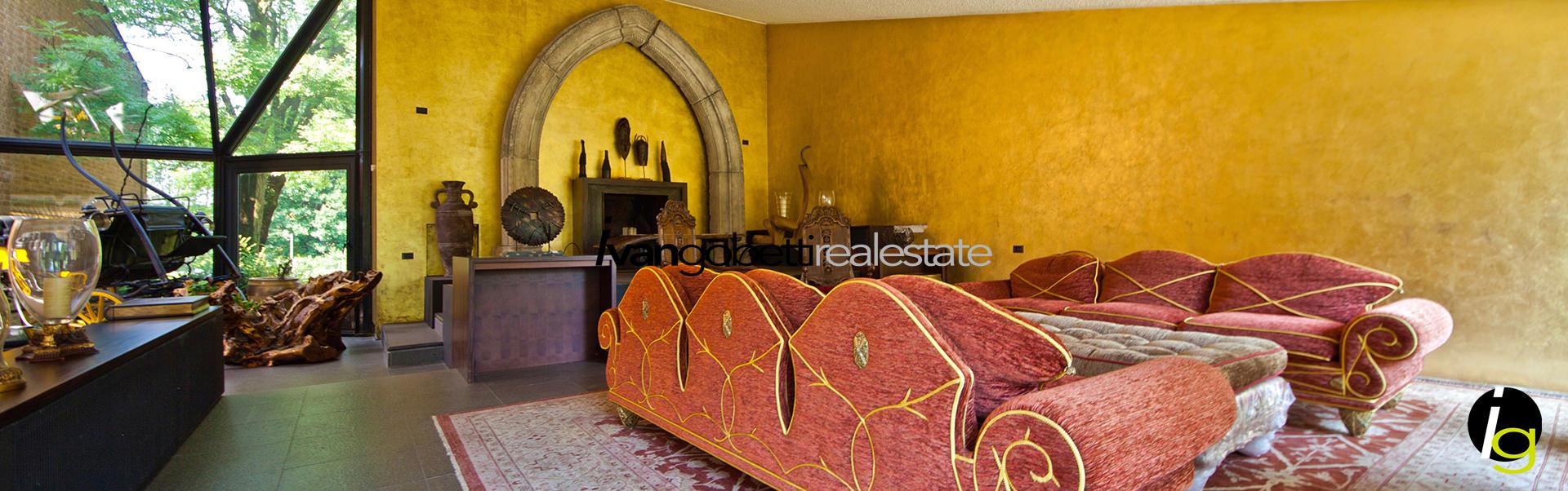 Villa in vendita a Como, vicinanze golf Villa D'Este, esclusività e design