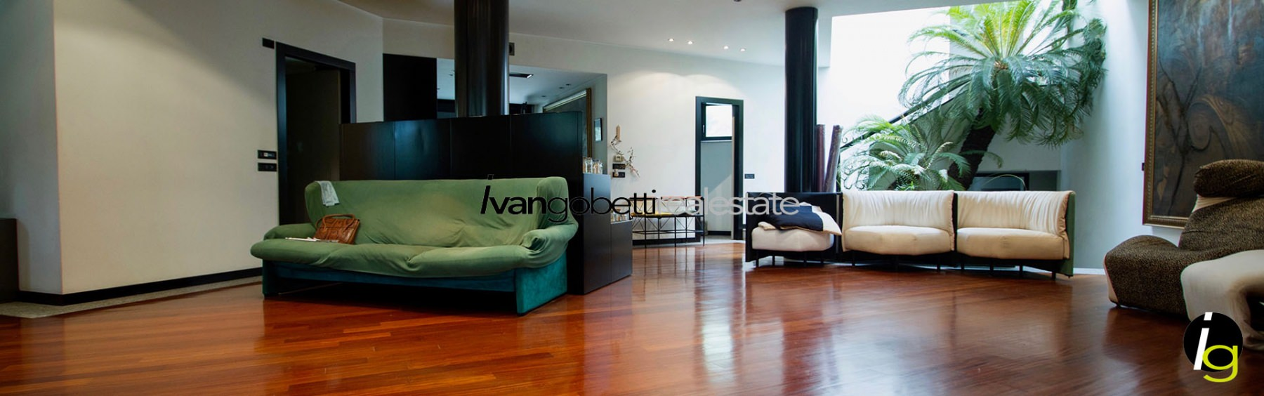 Modern design villa for Sale in Milan Legnano center