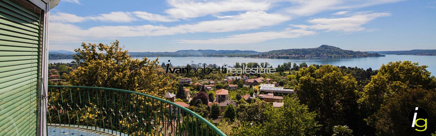 Lesa Lake Maggiore, Villa for sale with  lake view and  park