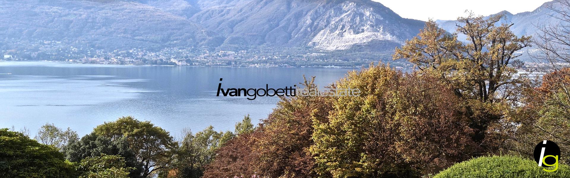 Vendesi sul Lago Maggiore a Verbania Villa con parco e vista mozzafiato sul Golfo Borromeo