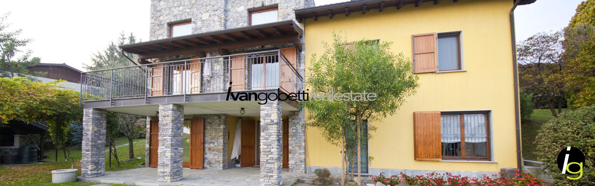 Maggiore See, Massimo Visconti Villa mit Park und Schwimmbad zu verkaufen