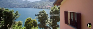 Lake Como Moltrasio, villa with lake view for sale