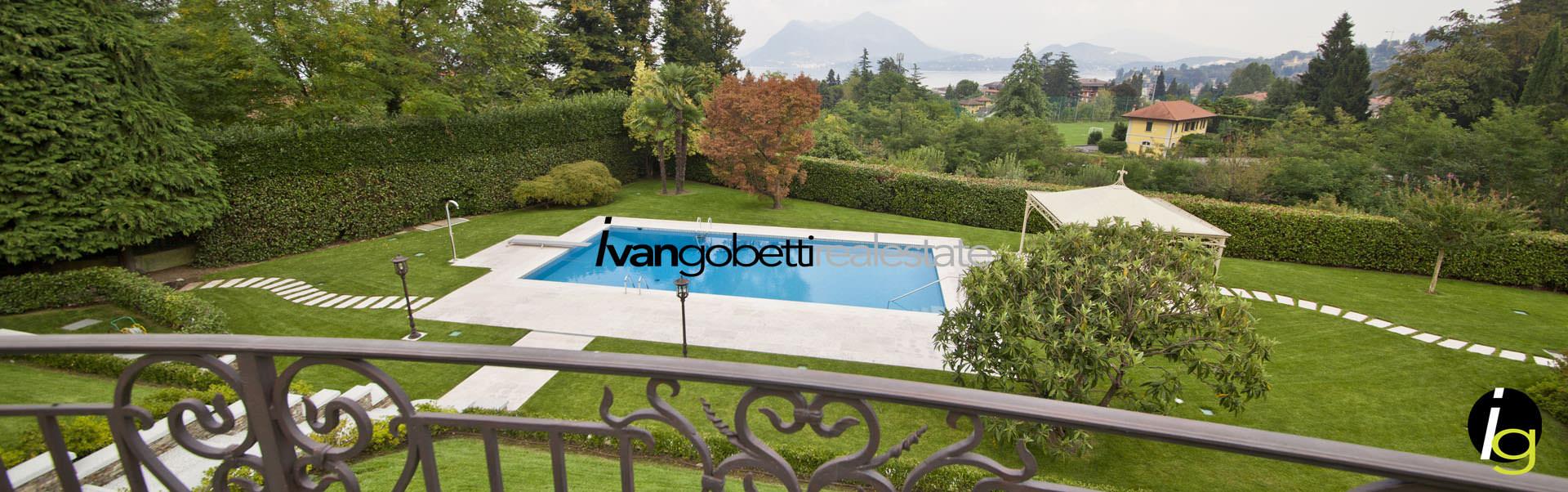In vendita villa moderna a Stresa con vista Lago Maggiore