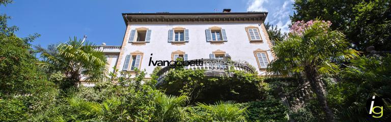 Lago di Como Blevio Splendida villa d'epoca in vendita