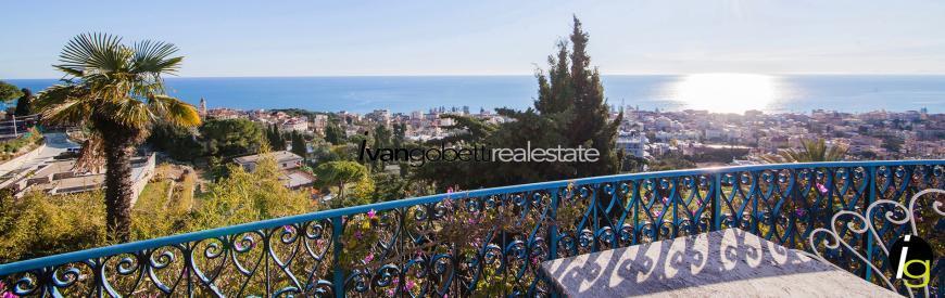 Liguria, Bordighera splendid luxury villa for sale