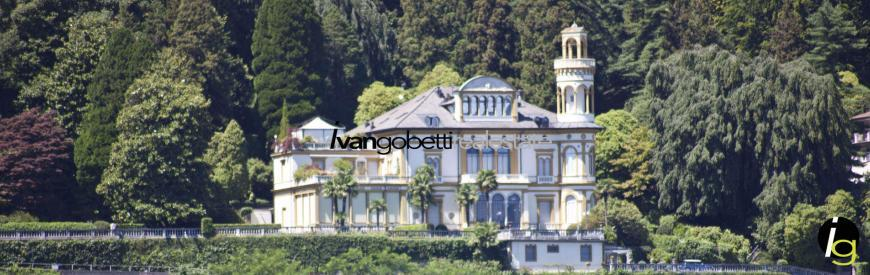 Luxury apartment with pool for sale on Lake Maggiore