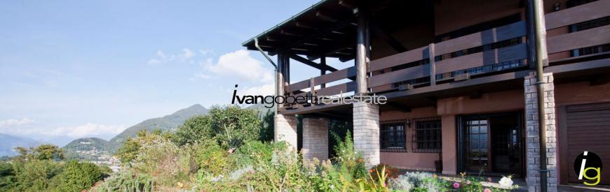 Lake Maggiore - Laveno Mombello Villa for sale with view