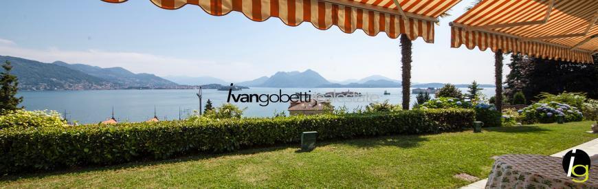 Luxury villa with pool on Lake Maggiore