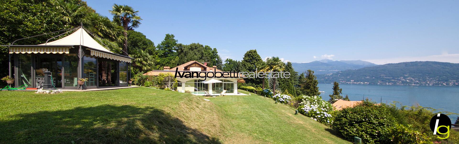 Luxury villa con piscina sul Lago Maggiore