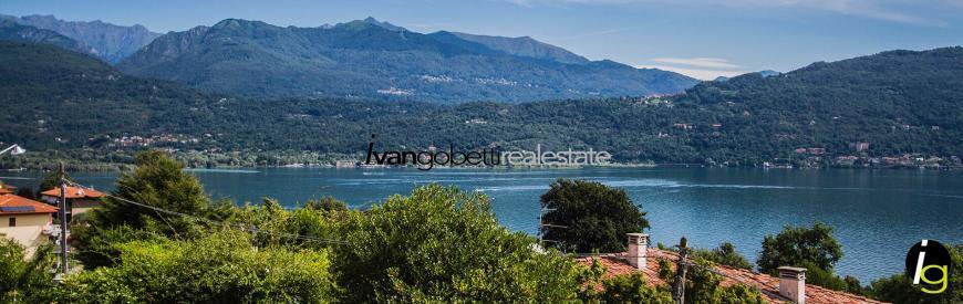 Lake Maggiore, Baveno Villa for sale with magnificent lake view and Borromean Islands