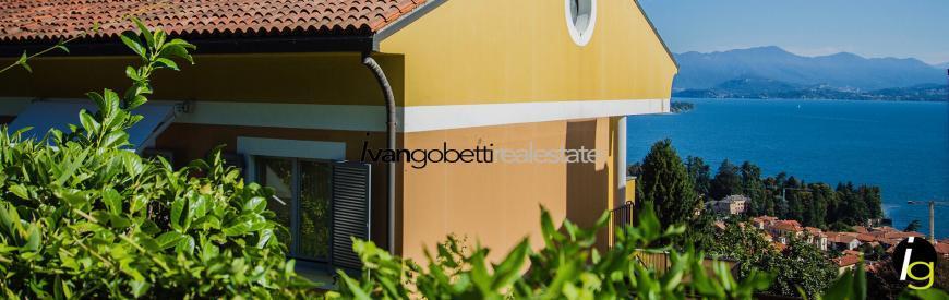 Meina, Lake Maggiore apartment for sale
